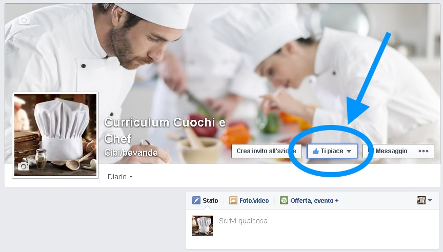 Curriculum Cuochi e Chef
